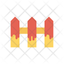 Boundary Barrier Fence Icon
