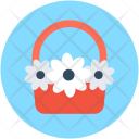 Bouquet Flower Hamper Icon