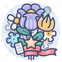 Flowers Love Holiday Icon