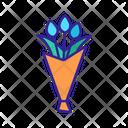 Bouquet Element Tulip Icon