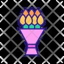 Bouquet Tulip Floral Icon