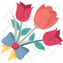Bouquet Blossom Mothers Day Flower Icon