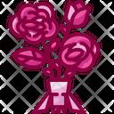 Bouquet Flower Bouquet Valentines Day Icon