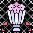 Bouquet Present Flower Icon