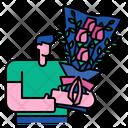 Bouquet Flower Floral Icon