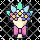Bouquet Flower Decoration Icon