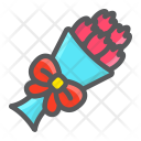 Bouquet Flowers Floral Icon