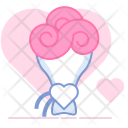 Present Gift Flowers Icon