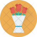Bouquet Flowers Floral Icon
