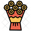 Flower Blossom Roses Icon