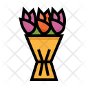 Bouquet Flowers Tulip Icon
