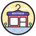 Boutique Shop Store Icon