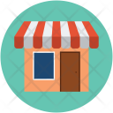 Boutique Shop Market Icon