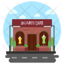 Boutique Cloth Shop Garment Shop Icon