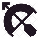 Bow Archer Arrow Icon