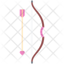 Bow Arrow Cupid Icon