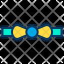 Bow Tie Tie Men Accessories Icon