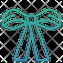 Bow Bow Charity Ribbon Icon