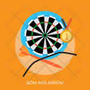 Bow Arrow Sport Icon