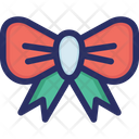 Bow Christmas Decoration Icon