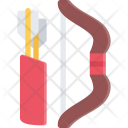 Bow Arrows Icon