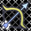 Rpg Bow Arrow Icon