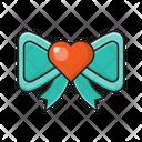 Bow Tie Love Icon