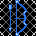 Bow Arrow Sport Icon