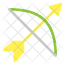 Bow Ribbon Arrow Icon