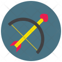 Bow Arrow Dart Icon