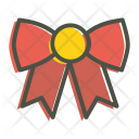 Bow Christmas Xmas Icon