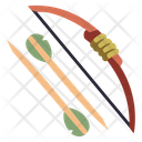 Bow And Arrow Forest Bow Bow Icon
