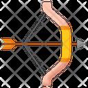 Bow And Arrow Archery Bow Icon