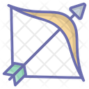Bow Arrow Archery Shooting Icon