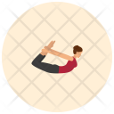 Bow pose Icon