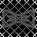 Bow Tie Clothes Icon