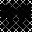 Bow Ribbon Arrow Icon