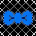 Bow Tie Ribbon Accessory Icon