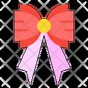 Ribbon Bow Tie Heart Icon