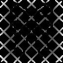 Bow Tie Ribbon Heart Icon