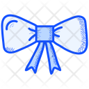 Christmas Ribbon Bow Icon