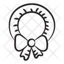 Bow Wreath Icon