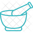 Bowl Mortar And Icon