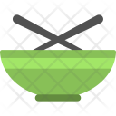 Bowl With Spoons Icon