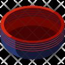 Bowl Isometric Icon