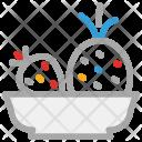 Bowl Fruit Fruits Icon