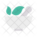 Bowl Herbal Mixture Icon