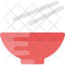Bowl and Chopsticks Icon