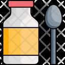 Bowl Container Food Jar Honey Jar Icon