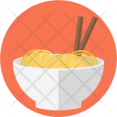 Bowl Stick Noodles Icon